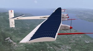 green halo solar impulse solar power plane